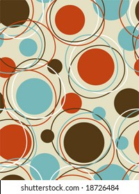 Retro  - seamless pattern geometric background