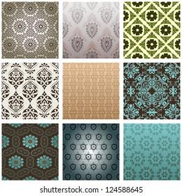 Retro set patterns