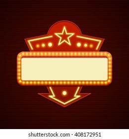 Showtime images stock photos vectors shutterstock - Showtime design ...