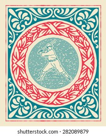 Retro sport card design