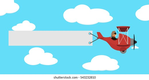 Airplane Pulling Banner Images Stock Photos Vectors Shutterstock