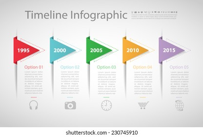 Retro template. Can be used for workflow layout, banner, diagram, web design, infographic Vector/illustration