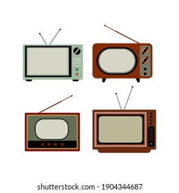 Retro TV. Vector illustration  eps10