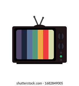 Retro tv.  Vintage stile. Vector