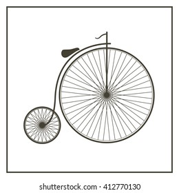 retro vintage bicycle