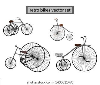 retro vintage bike for a ride