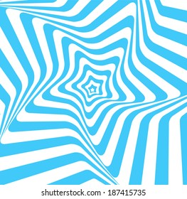 Retro Vintage  Hypnotic Background.Vector Illustration
