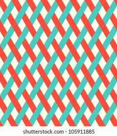 retro wicker pattern (seamless )
