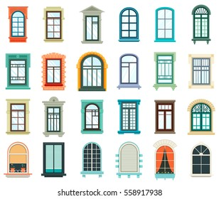 Window frame images stock photos vectors shutterstock for Window frame designs house design