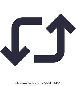 Retweet Vector Icon
