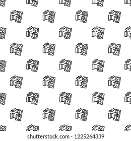Reverse bribery pattern seamless repeat background for any web design