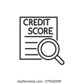 Review credit score