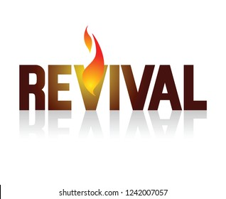 REVIVAL FIRE logo
