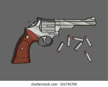 revolver cartoon