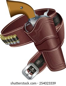 Western Holster Images, Stock Photos & Vectors | Shutterstock