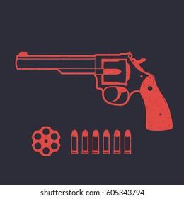 Revolver, handgun