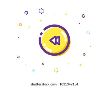 The Rewind Button Illustration
