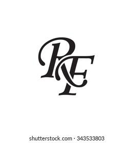 Rf Monogram Images, Stock Photos & Vectors | Shutterstock