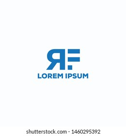 RF/Latter logo design for use any business purpose