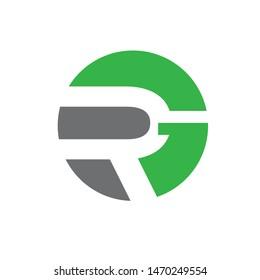 RG monogram. letter based logo