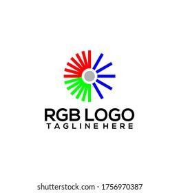 RGB Logo Design Vector Template