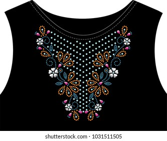 Rhinestone applique for t-shirt hot-fix transfer 10c6ee9c7abf