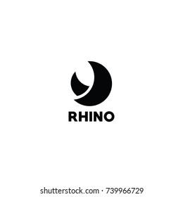 rhino logo concept