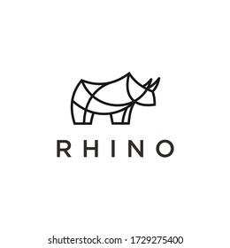 rhino logo / rhino vector