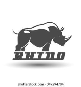 Rhino silhouette
