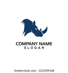 Rhino for Sport logo templates with vector files.