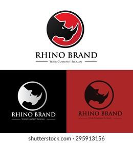 Rhino Vector Logo Template