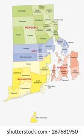 rhode island city map Rhode Island Map Images Stock Photos Vectors Shutterstock rhode island city map