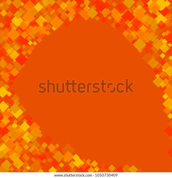 Rhombus orange minimal geometric cover template of isolated elements.Future geometric cover rhombus orange. Used as print, card, backdrop, template, texture, background, wallpaper, banner, border