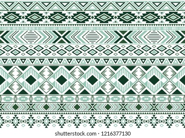 Rhombus and triangle symbols tribal ethnic motifs geometric seamless background. Graphic geometric shapes sprites tribal motifs clothing fabric textile print traditional design with triangles