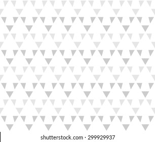 Rhythm gray color up arrow symbol seamless pattern background vector. Repeating geometric shapes with triangle
