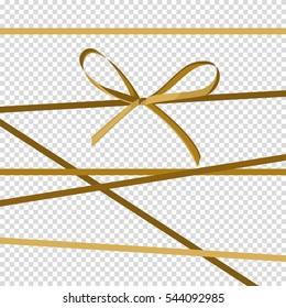 Ribbon, icons. Vector illustration