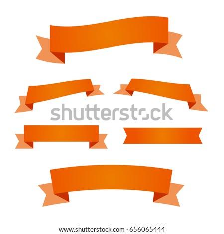 ribbon red certificate gradient ribbon vector stock vector royalty