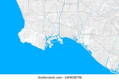 Long Beach Map Images, Stock Photos & Vectors | Shutterstock