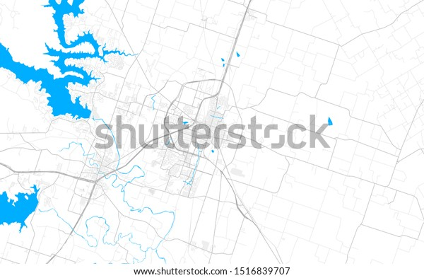 Rich Detailed Vector Area Map Temple Stock Vector Royalty Free