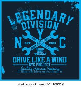 riders t-shirt graphic