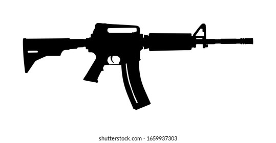 Rifle Silhouette Images Stock Photos Vectors Shutterstock Choose from over a million free vectors, clipart graphics, vector art images, design templates, and illustrations created by artists worldwide! https www shutterstock com image vector rifle vector silhouette isolated on white 1659937303