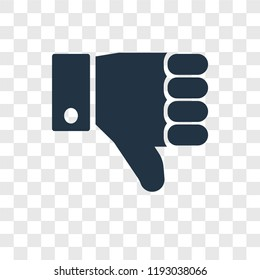 Right to objection vector icon isolated on transparent background, Right to objection transparency logo concept