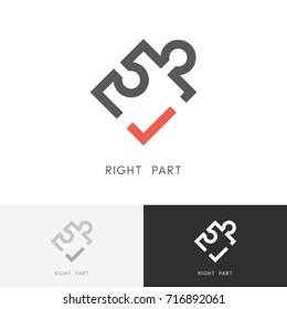 Puzzle Logo Images Stock Photos Vectors