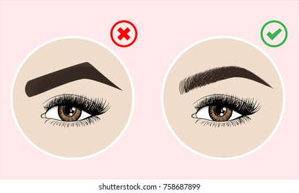Eyebrows Images, Stock Photos & Vectors | Shutterstock