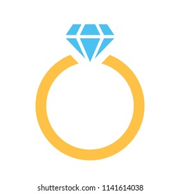 engagement ring logos images stock photos vectors shutterstock https www shutterstock com image vector ring diamond icon vector logo template 1141614038