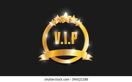 Ring Gold VIP Five Stars