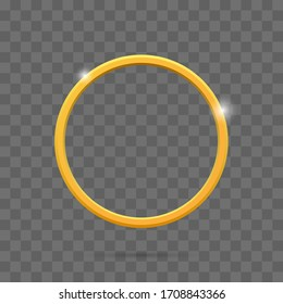 Ring icon. Graphic template. Vector illustration