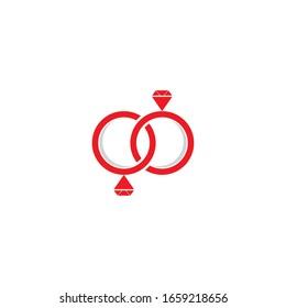 Ring logo template vector icon design