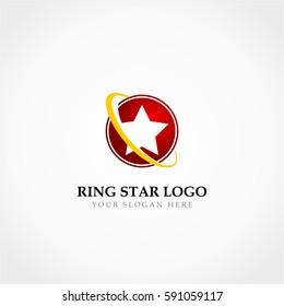 Ring Of Star Logo, Super Hero Logo