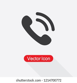 Ringer Volume Icon,Outgoing Call Icon Vector Illustration Eps10